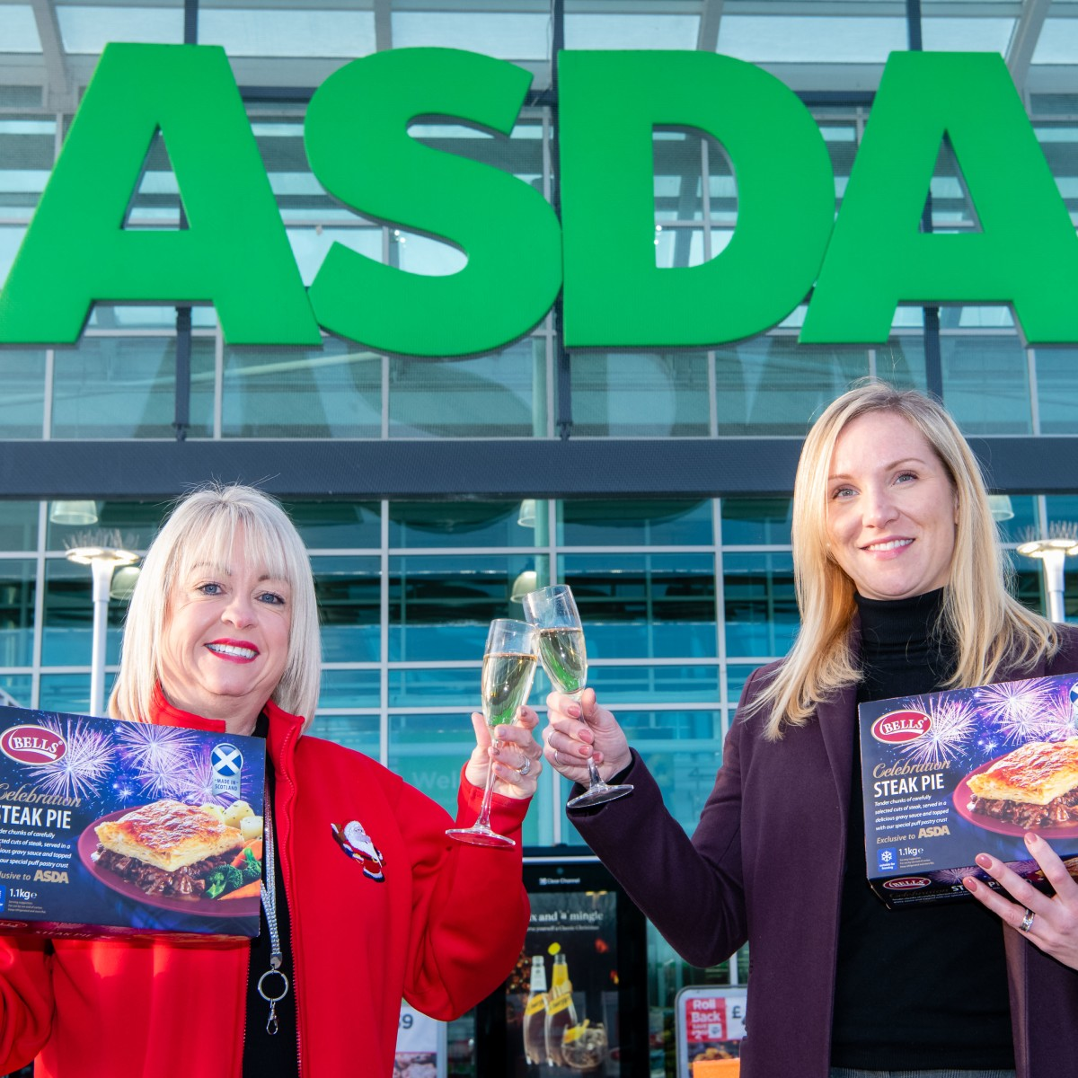 Bells and Asda 'Celebrate' Hogmanay with Limited-Edition Pie