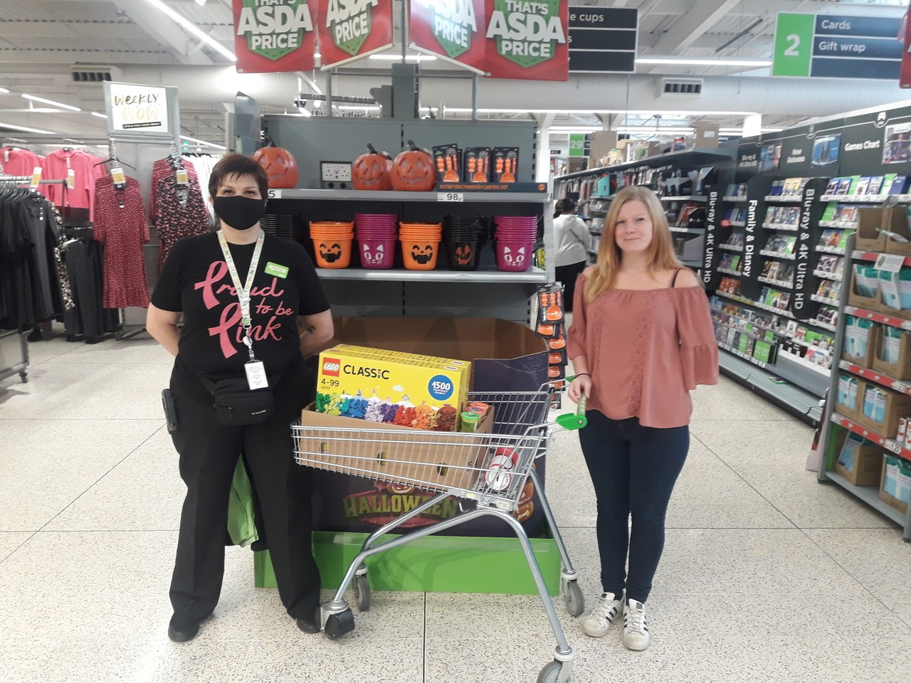 Donation to Wargrave House School and College  | Asda Golborne