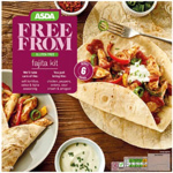 Asda Free From Fajita Kit
