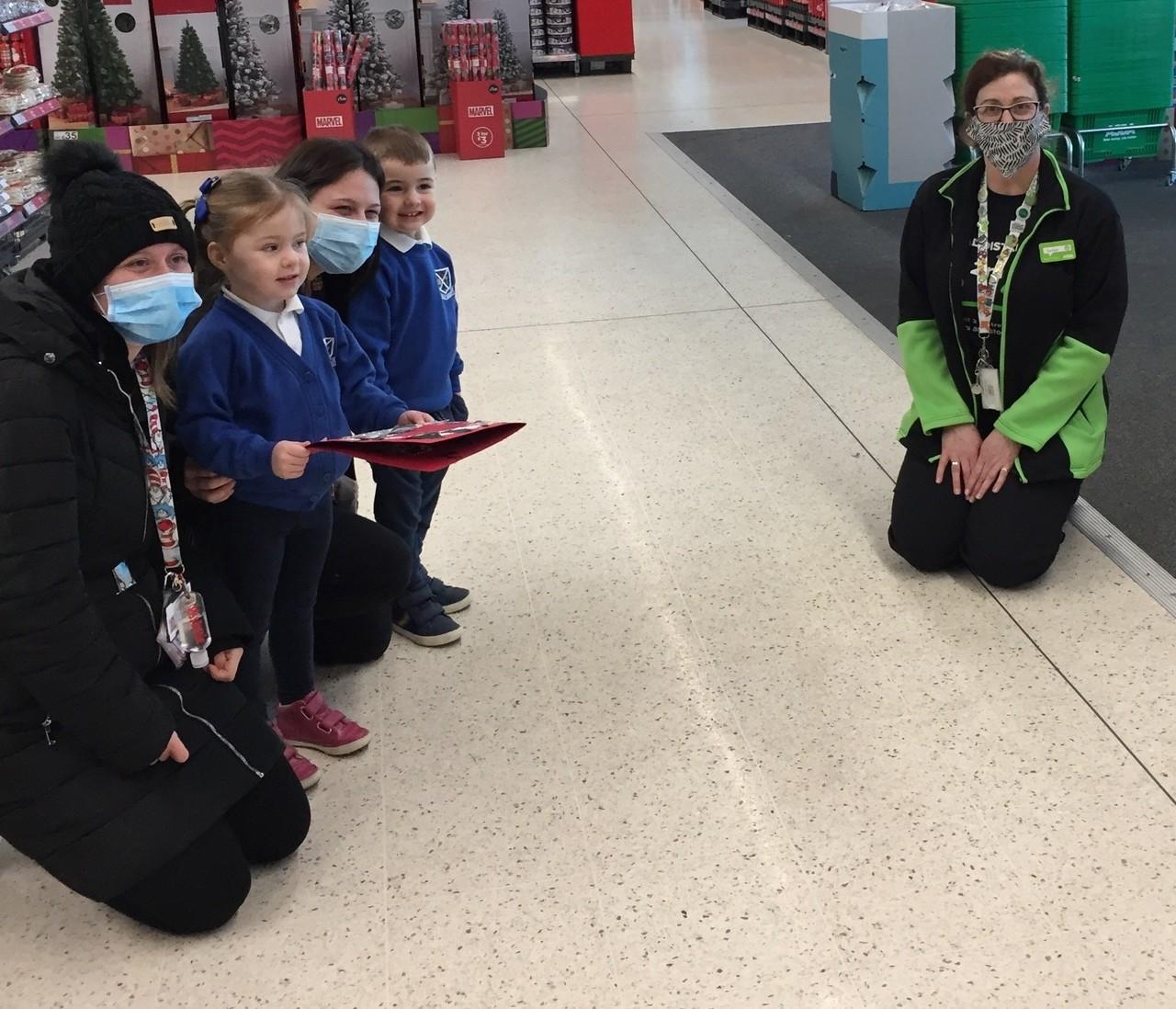Nursery says Thank You | Asda Fraserburgh