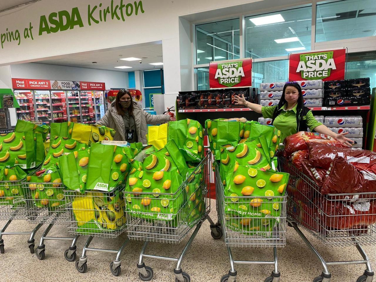 £600 grant to nursery | Asda Dundee Kirkton