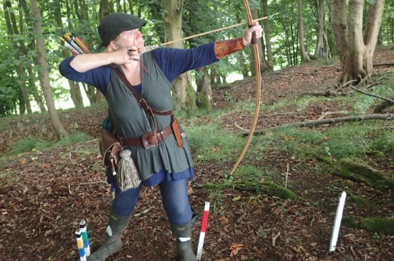 Asda colleague Jan's our very own Robin Hood
