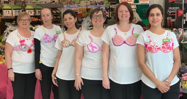 Tickled Pink at Asda Lower Earley