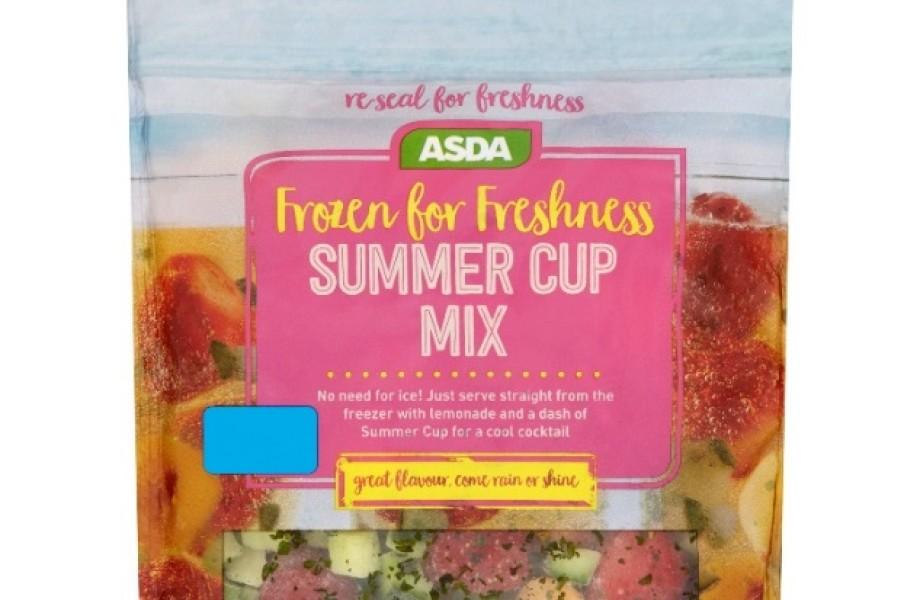 Asda Frozen for Freshness Summer Cup Mix