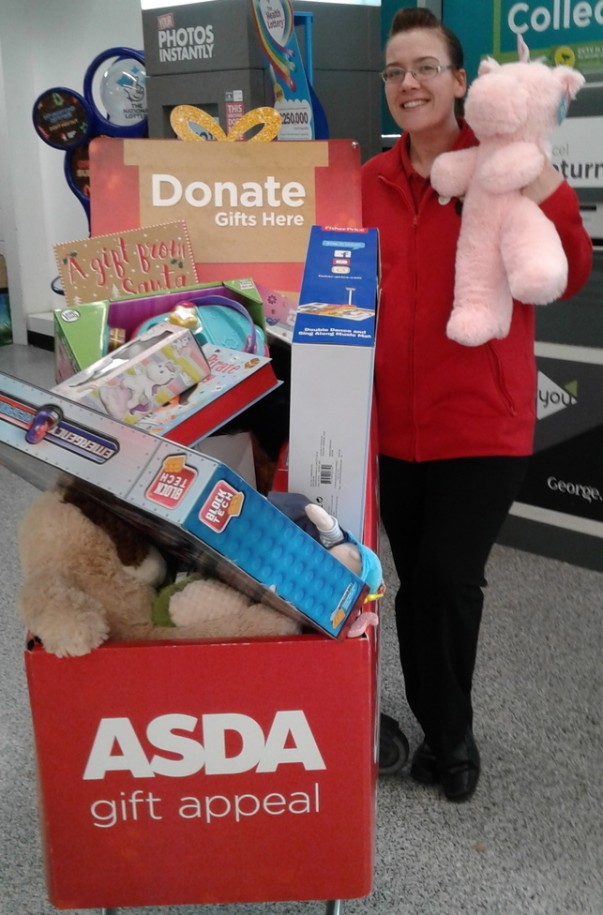 Asda Reddish gift appeal