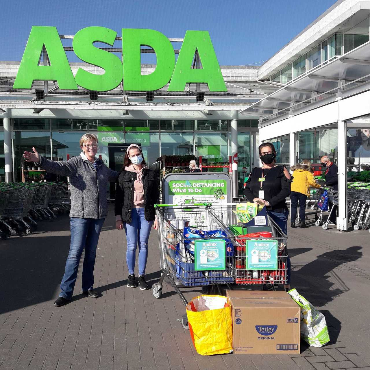 Father's House Sabbath Congregation secure a grant from the Asda Foundation | Asda Queensferry