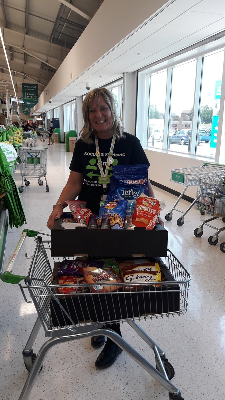Donation for the Mercia MS Therapy | Asda Coventry