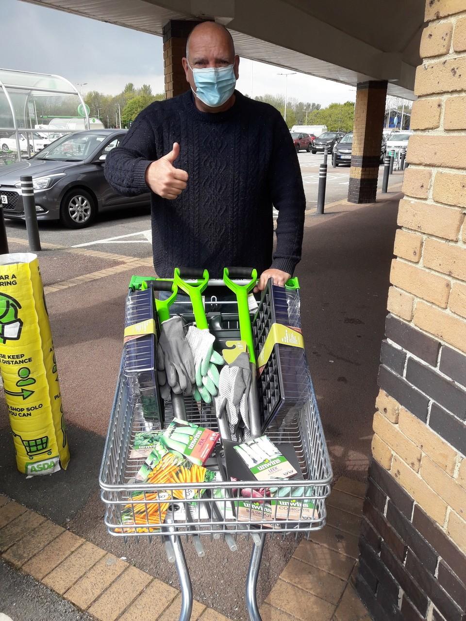 Newport Foodbank allotment donations   Asda Newport