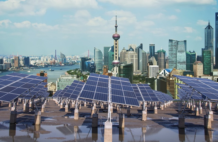 Solar Panels in Shanghai China