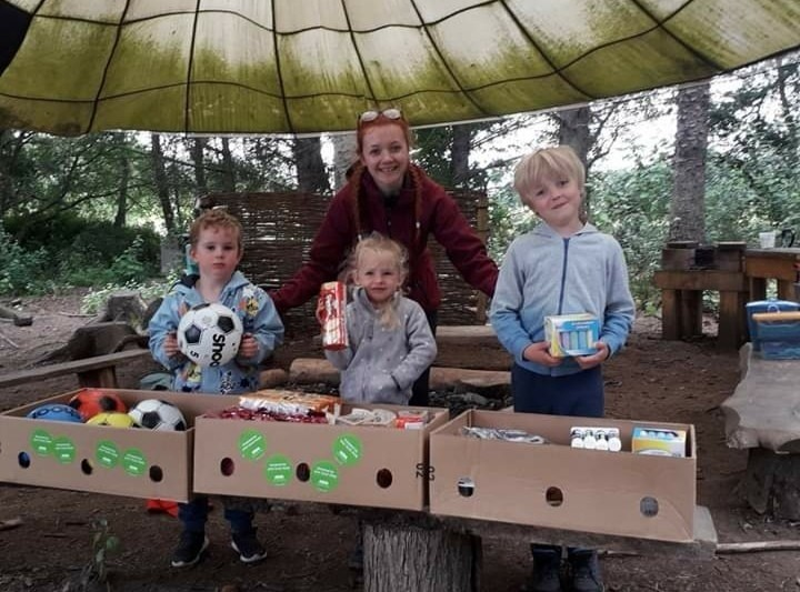 Earthtime's forest school nursery | Asda Elgin