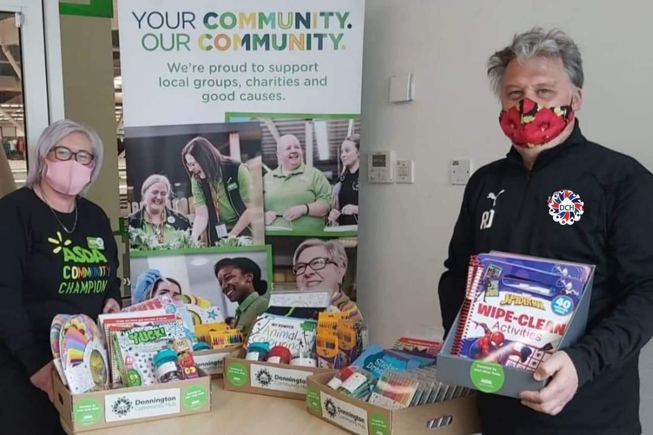 Community grant | Asda Donnington Wood