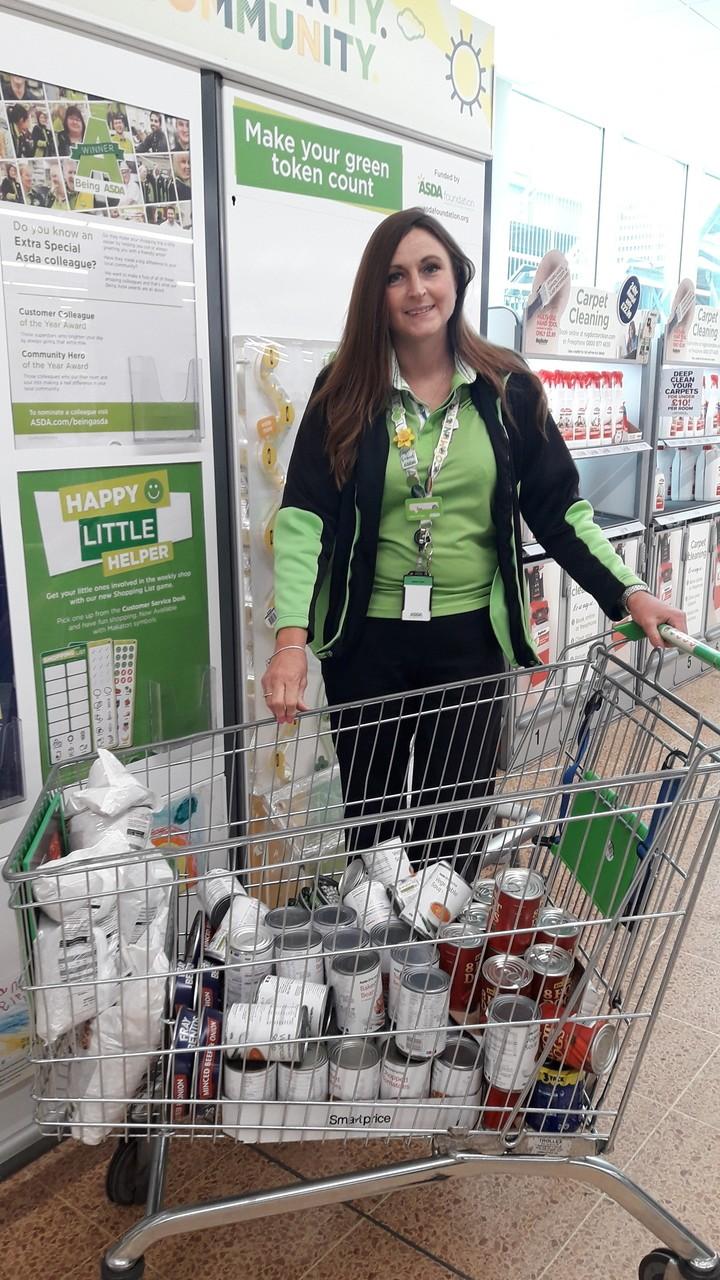 Donation for Cadbury Heath Matthew Tree Project | Asda Longwell Green