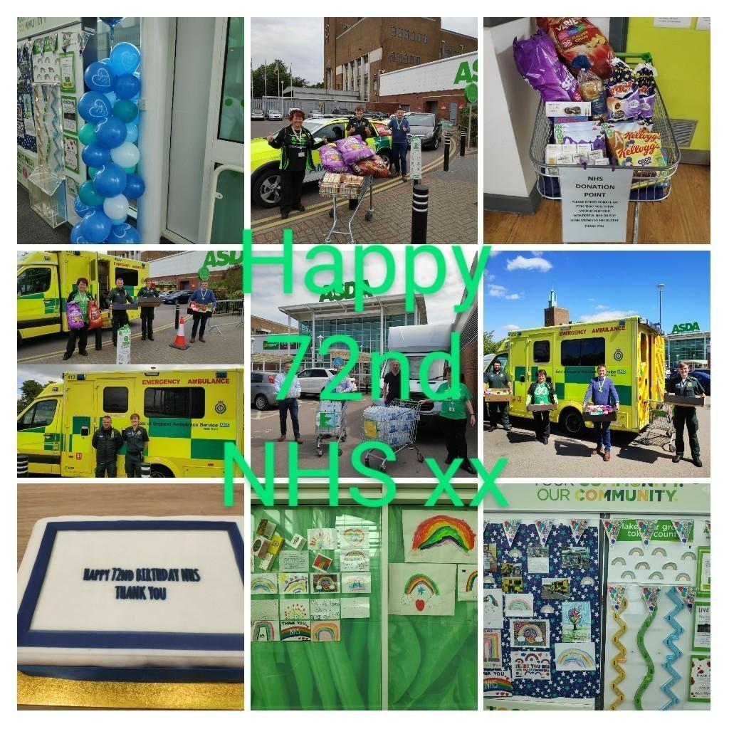 Happy birthday NHS | Asda Watford