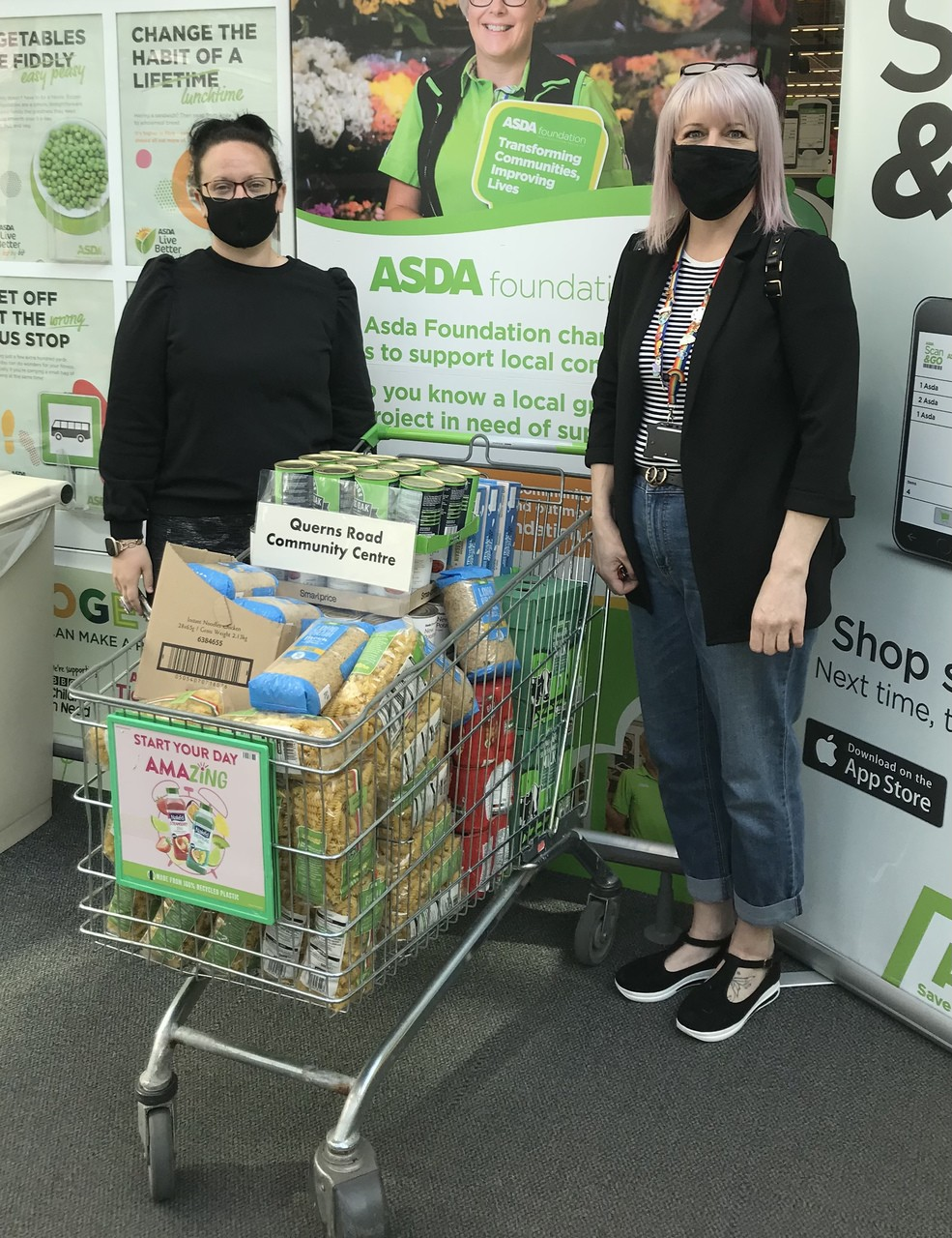 Supporting our local community centres | Asda Canterbury
