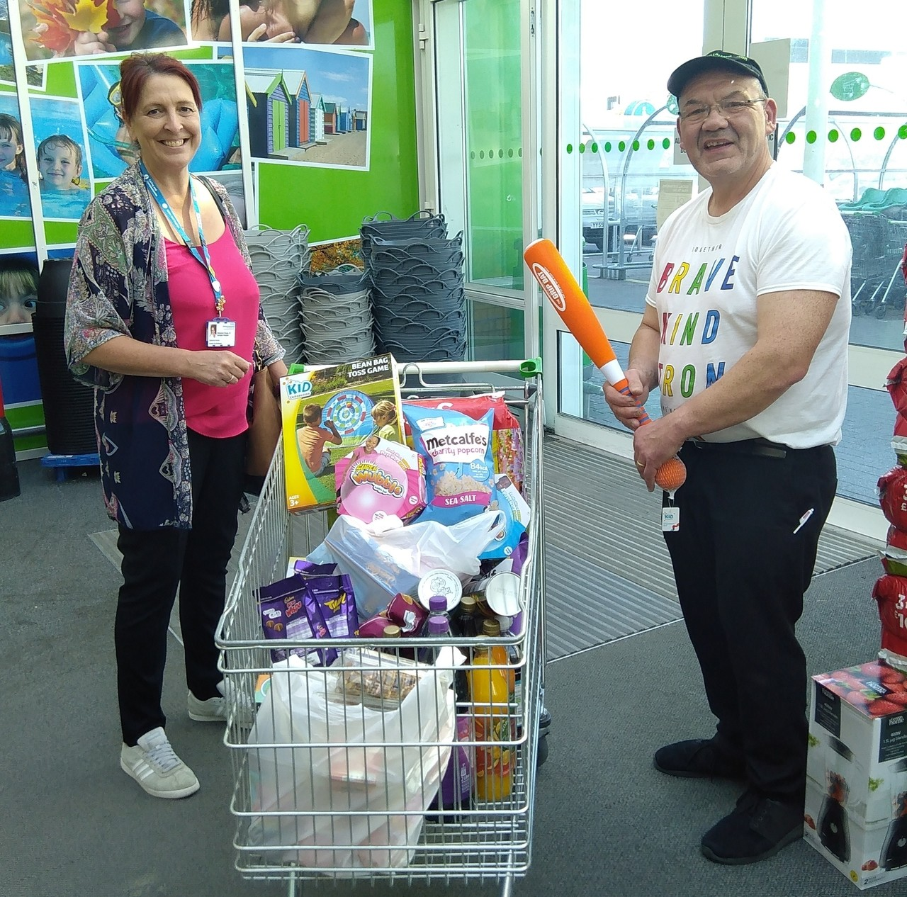 Stafford helps St George's | Asda Stafford