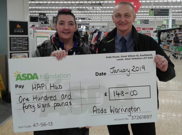 Asda Foundation top up funding to Hapi Hub