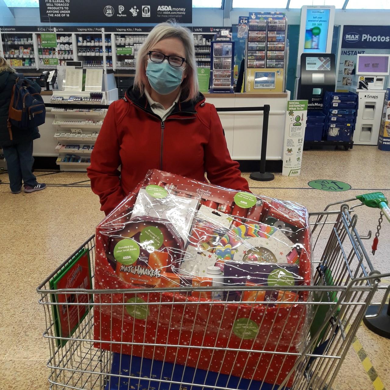 Christmas treats for local care home | Asda Crewe