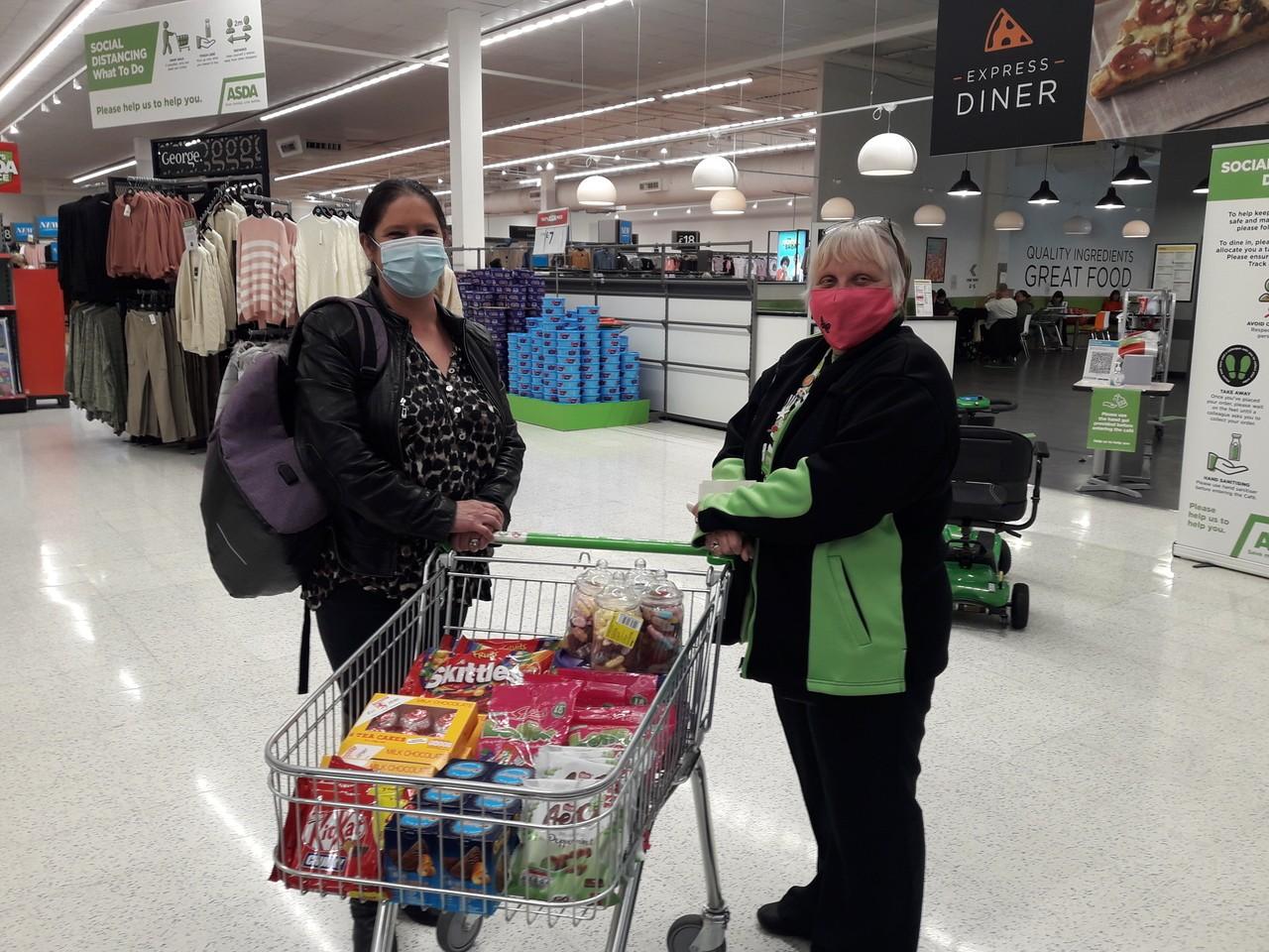 Donation to Macmillan | Asda Thornaby