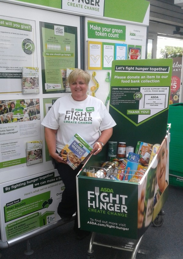 Asda Fight Hunger Create Change at Asda Gosforth