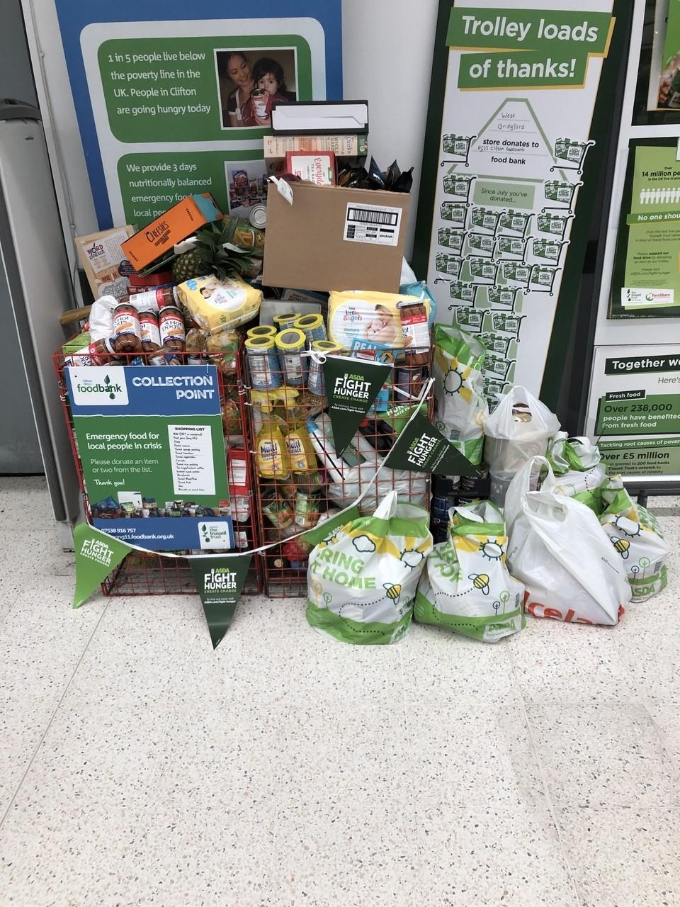 Overwhelming kindness | Asda Nottingham West Bridgford