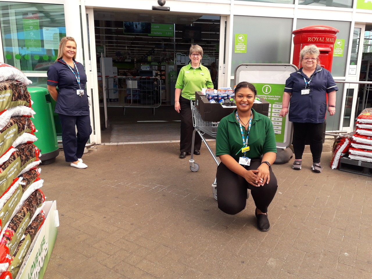 Hospital donation | Asda Darlaston