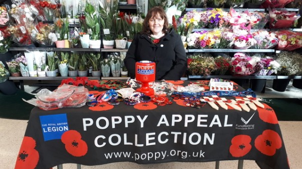 Asda Boston Poppy Appeal