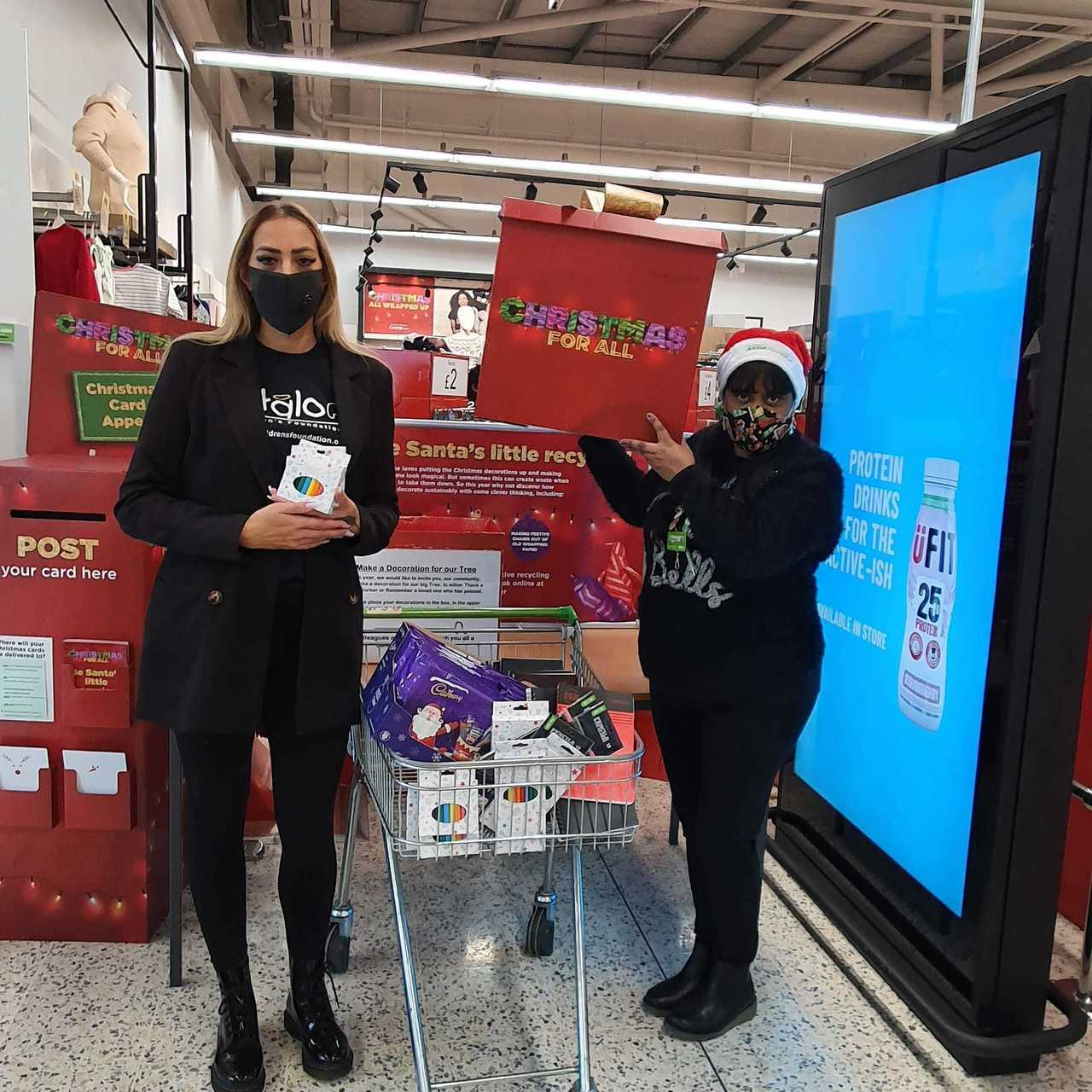 Halo Children's Foundation supported by Asda Hayes | Asda Hayes
