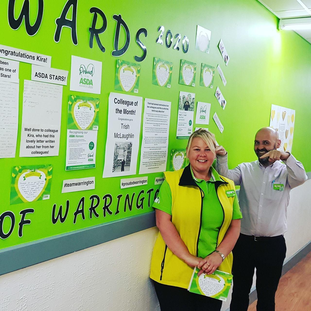 Trish is our Asda hero! | Asda Warrington