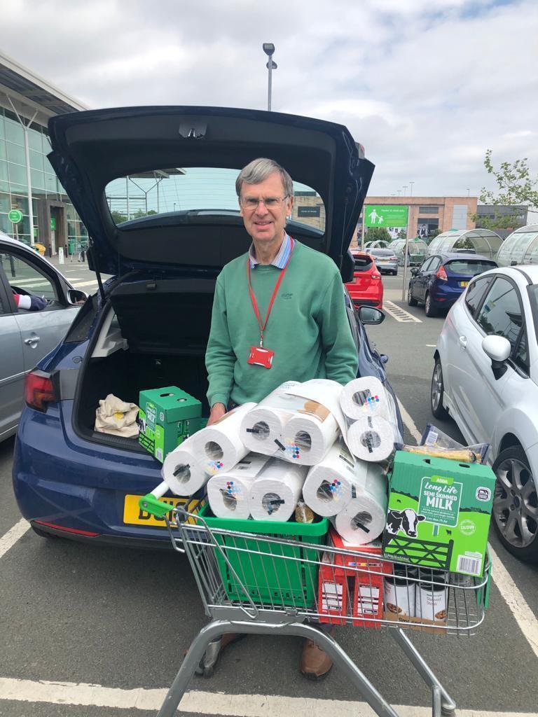 Donation to Dawley Christian Centre Foodbank | Asda Telford