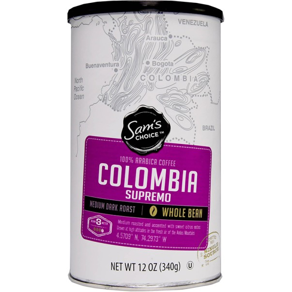 Sam's Choice Colombia Supremo