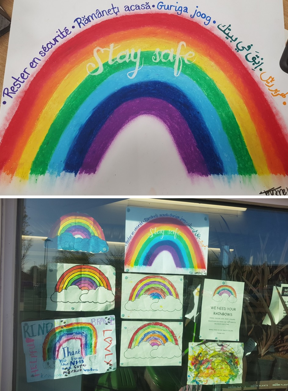 Rainbows galore at Asda Small Heath | Asda Small Heath