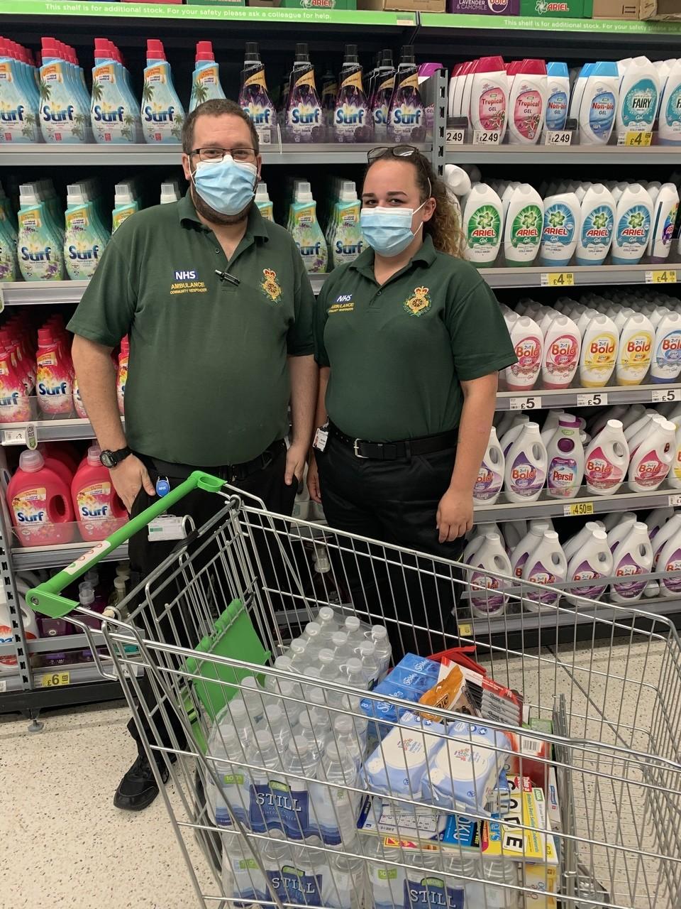 Ambulance donation | Asda Havant