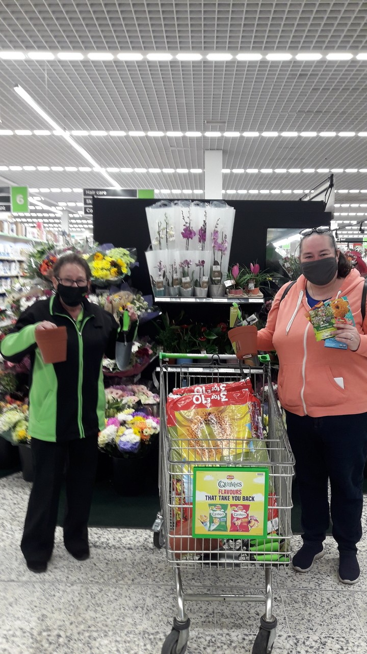 The sun is shining the children are back at school so what better than to donate gardening items to St Christopher's Catholic | Asda Wolverhampton