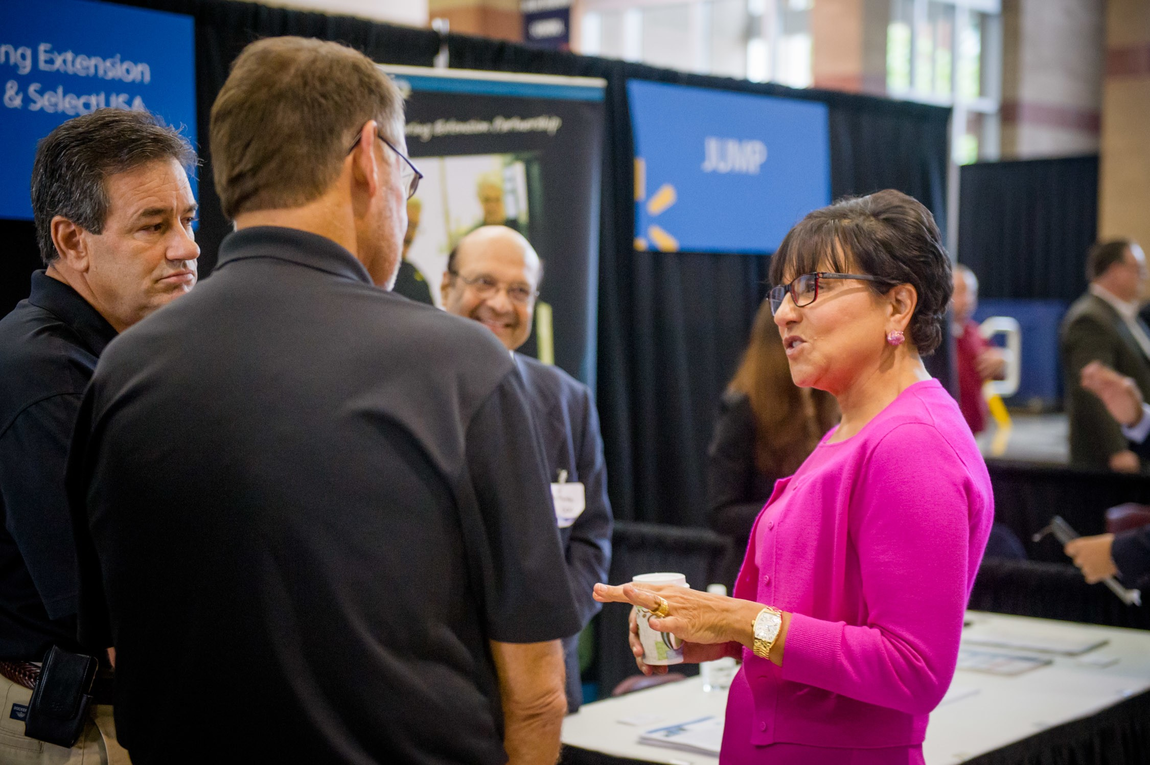 U.S. Secretary of Commerce Penny Pritzker with 2015 U.S. Manufacturing Summit Attendees