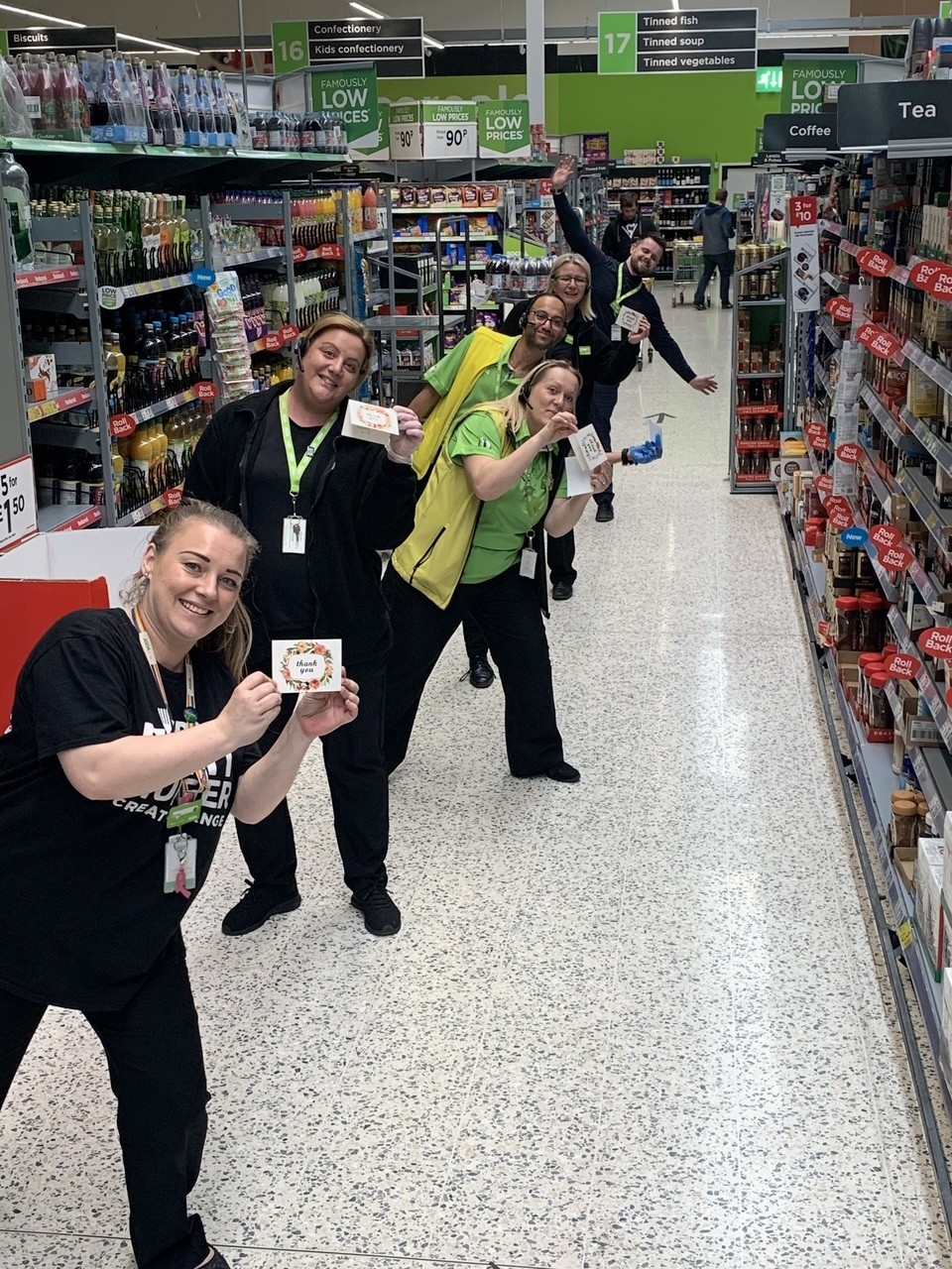 Thank yous from our lovely customers  | Asda Middleton