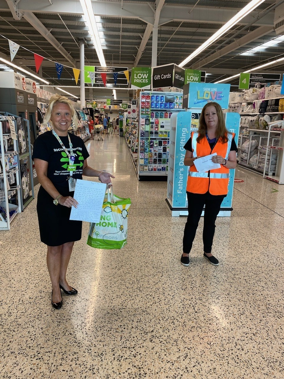 Donation thanks | Asda Barry