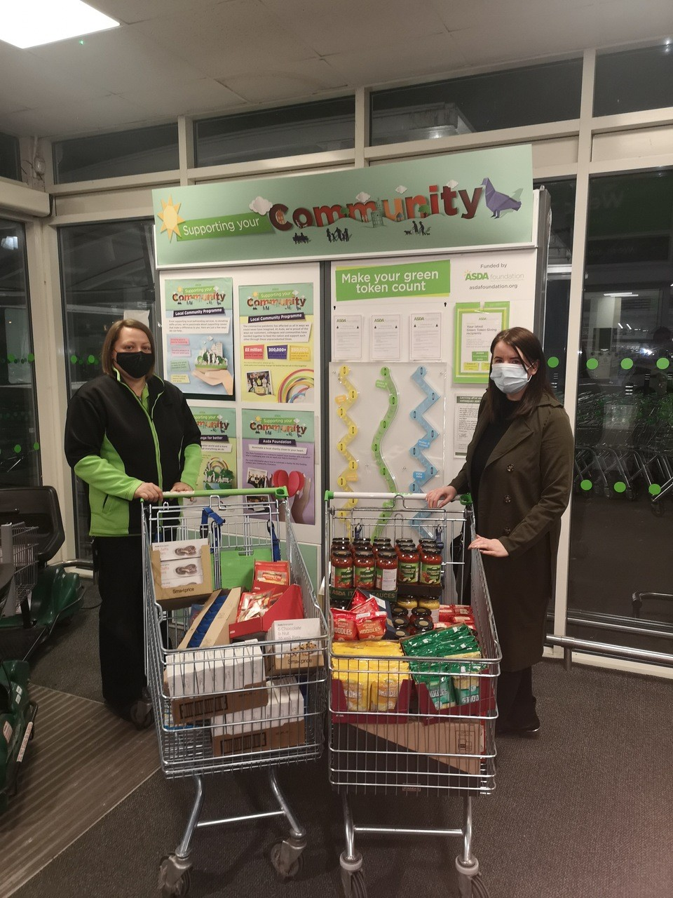 Donation to Feed A Mouth in Moray | Asda Elgin