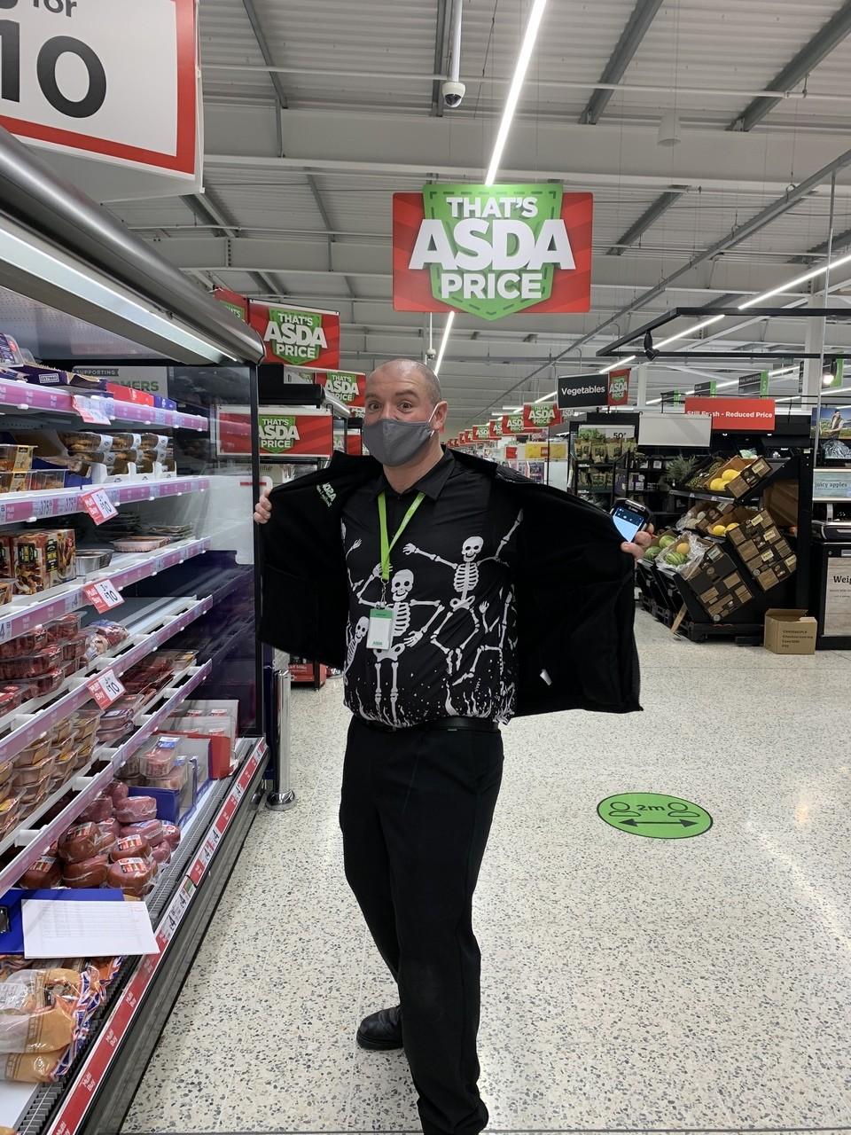 Getting spooky in Clacton | Asda Clacton-on-Sea