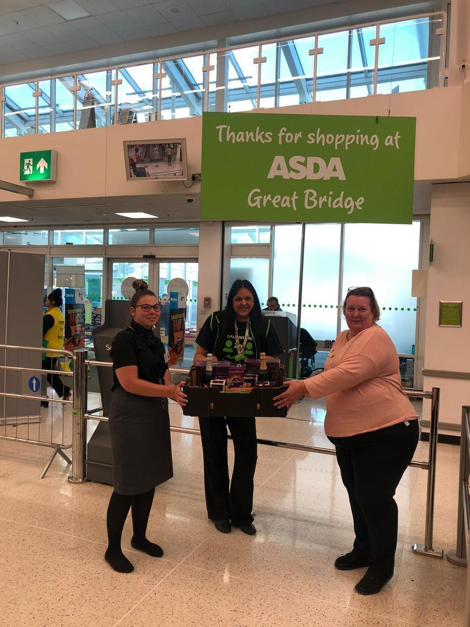 Donations for Lyndon Care Home | Asda Great Bridge