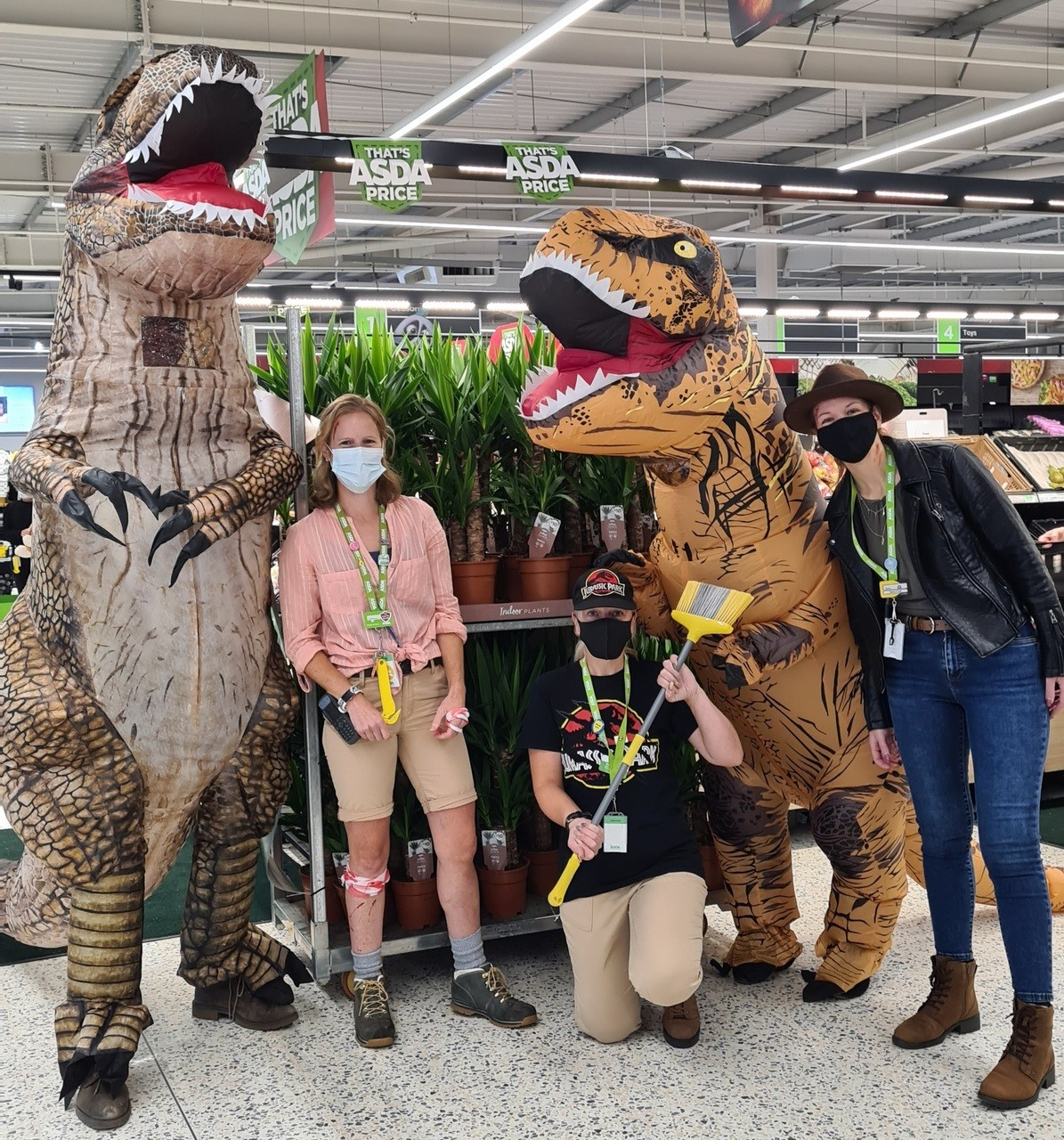 Jurassic Asda | Asda Newport Isle of Wight