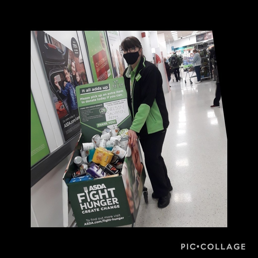 Another fantastic week for our salvation army foodbank | Asda Colne