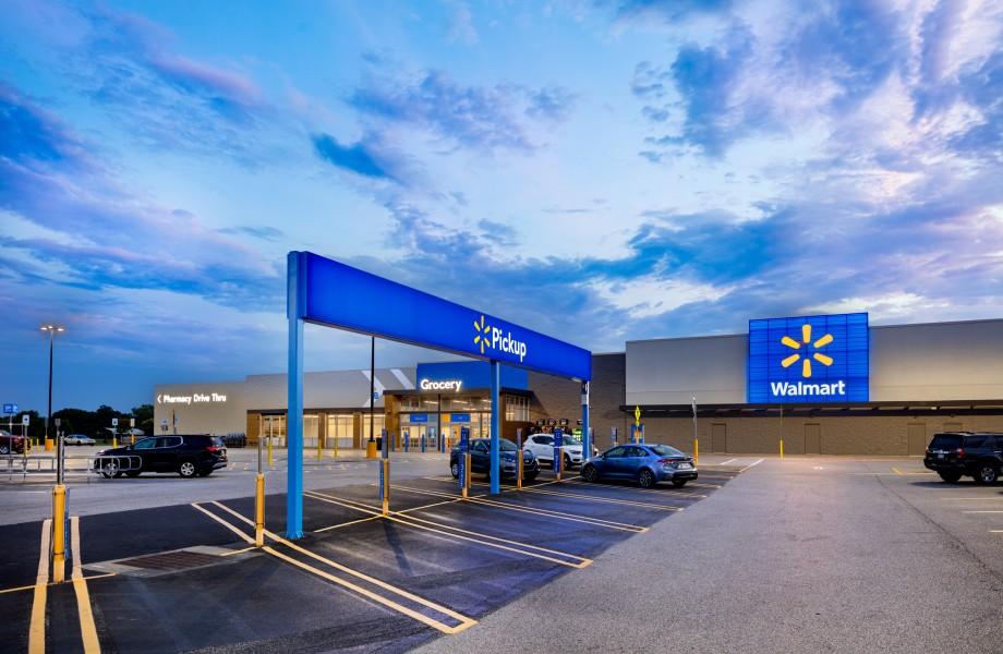 Walmart store update 2020 - exterior