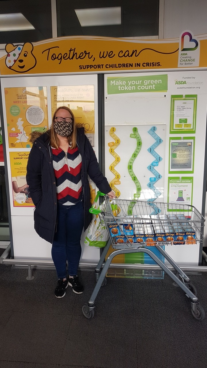 St Bernadette's RC Primary School donation | Asda Pilsworth