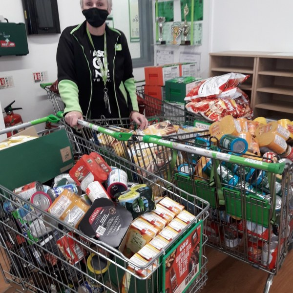 Asda Fight Hunger Create Change collection drive for local food banks
