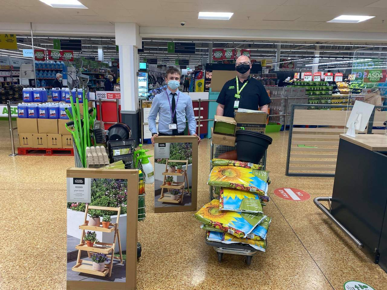 A Big Thank You to The Asda Foundation for their grant to purchase gardening items for Taunton Academy Gardening Club | Asda Taunton