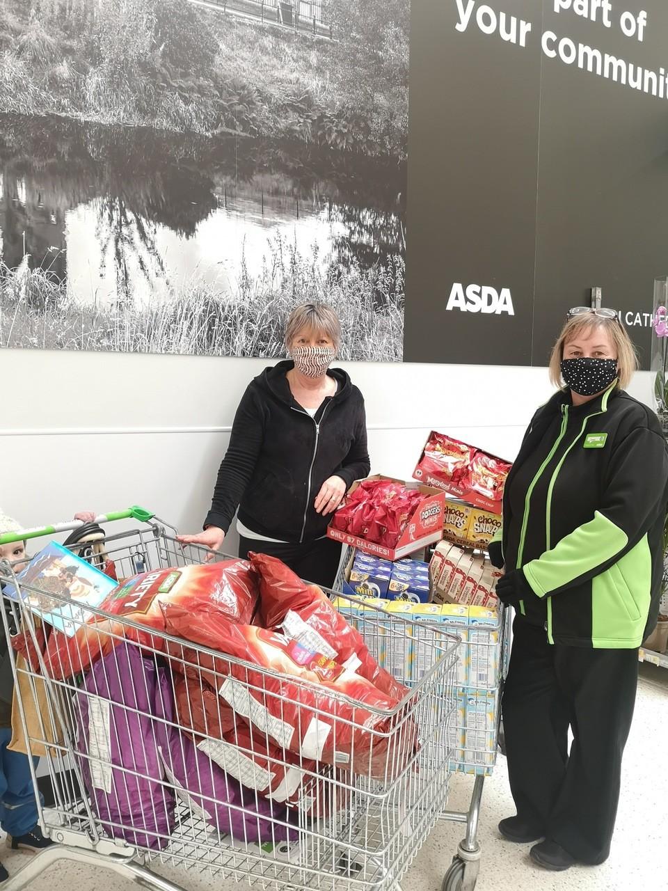 Store donation | Asda Elgin