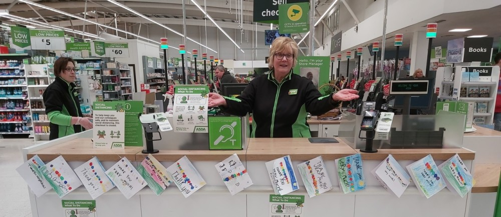 Thank you all round  | Asda Donnington Wood