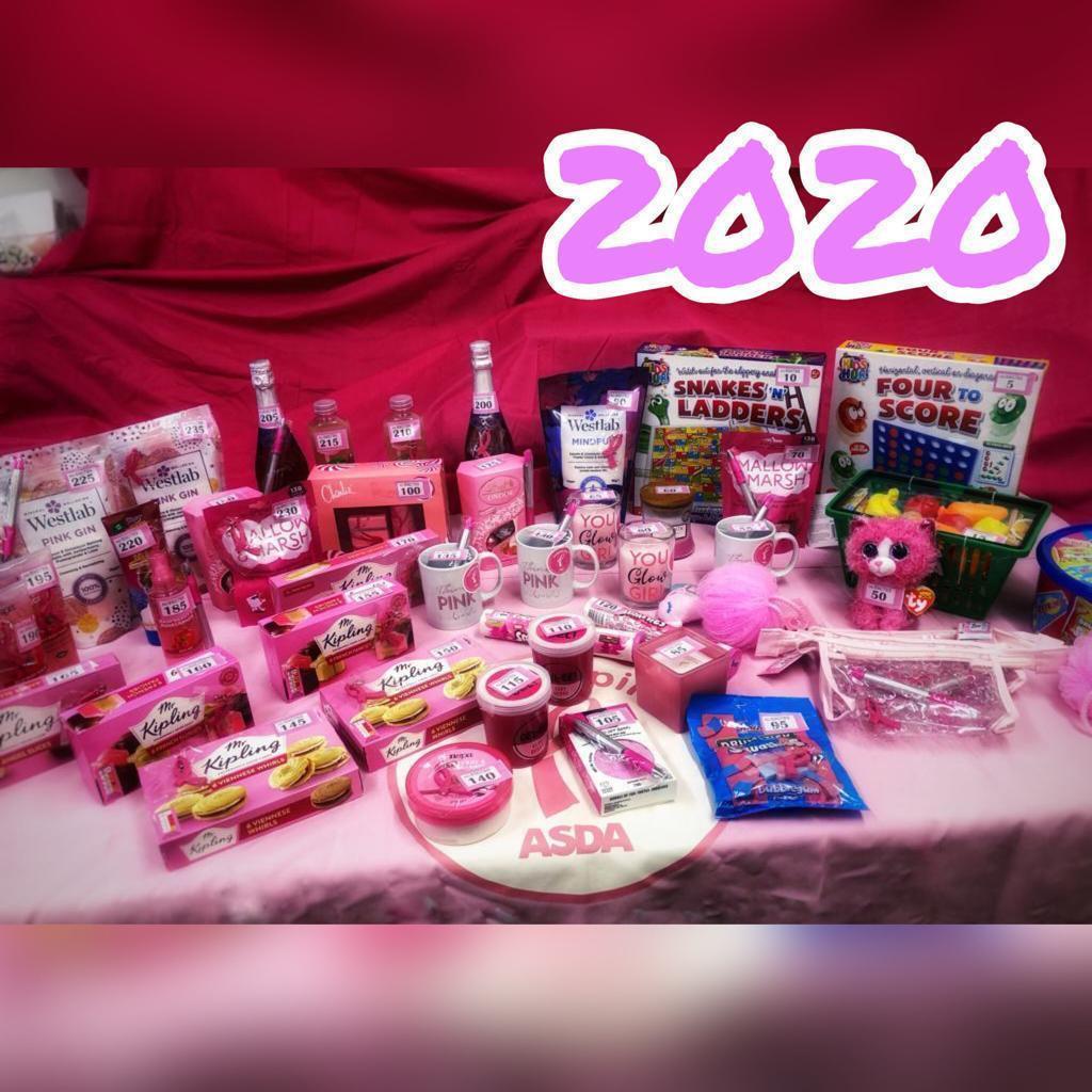 Tickled Pink fundraiser | Asda Leyton Mills