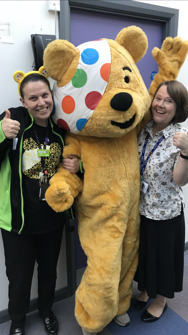 Asda Gloucester colleagues support BBC Children in Need