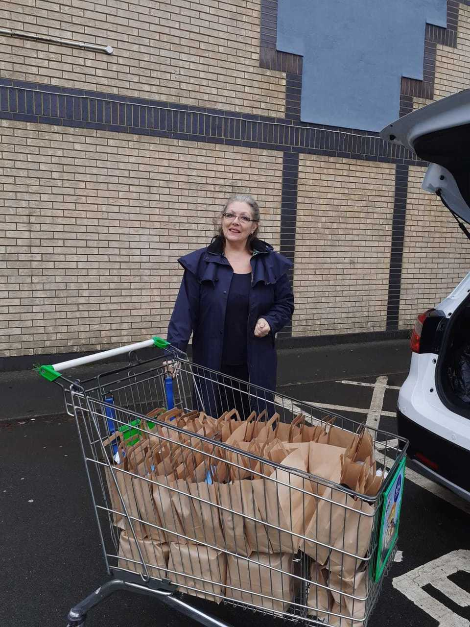 Care packages for MS Society Gosport and Fareham Group | Asda Fareham